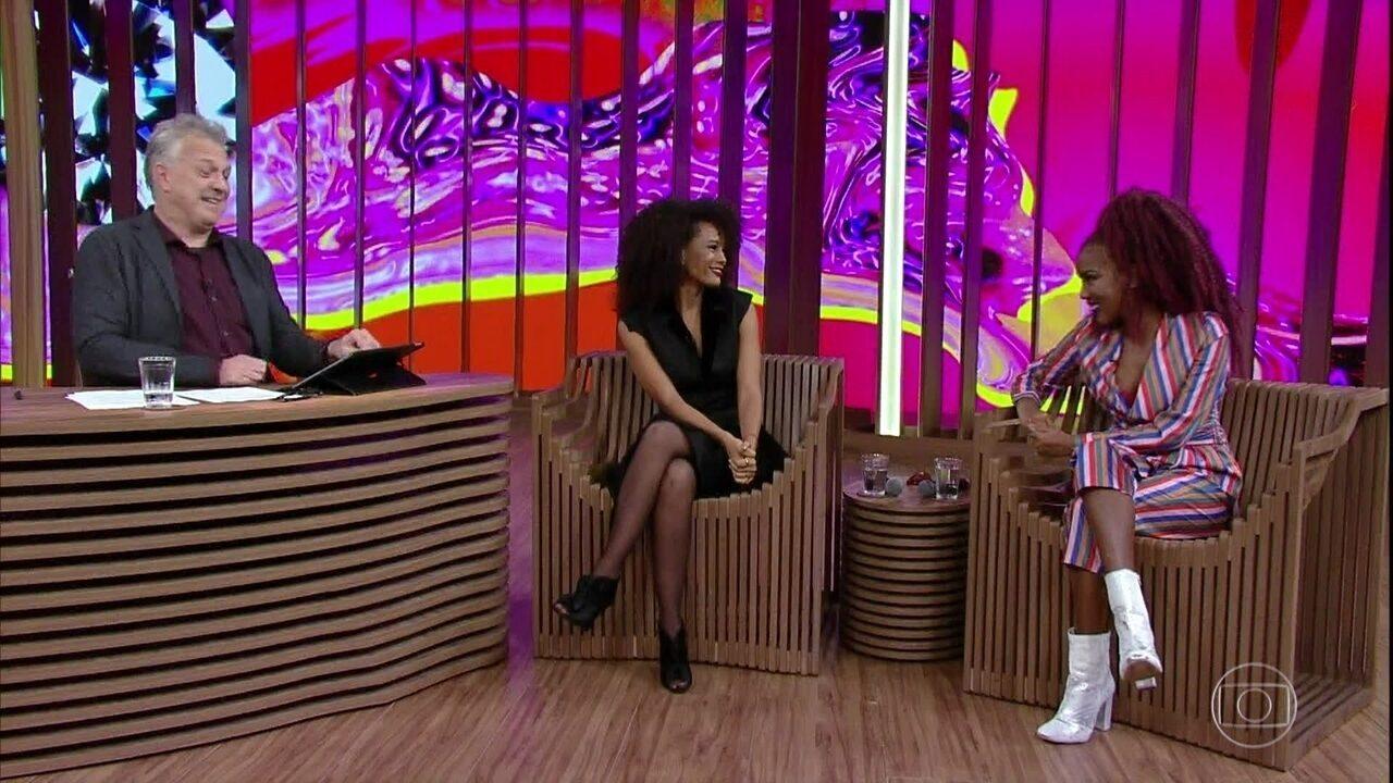 Lellêzinha fala sobre influência de Taís Araújo em sua carreira