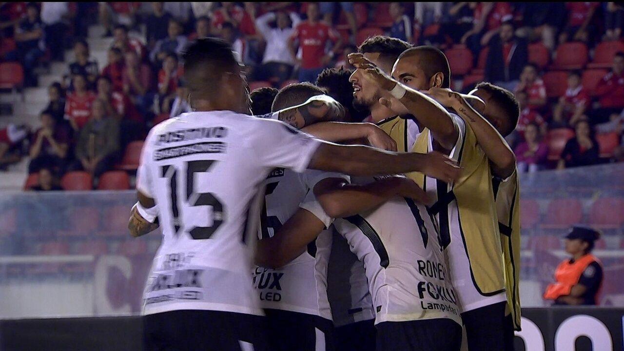 Melhores momentos de Independiente 0 x 1 Corinthians, pela Libertadores