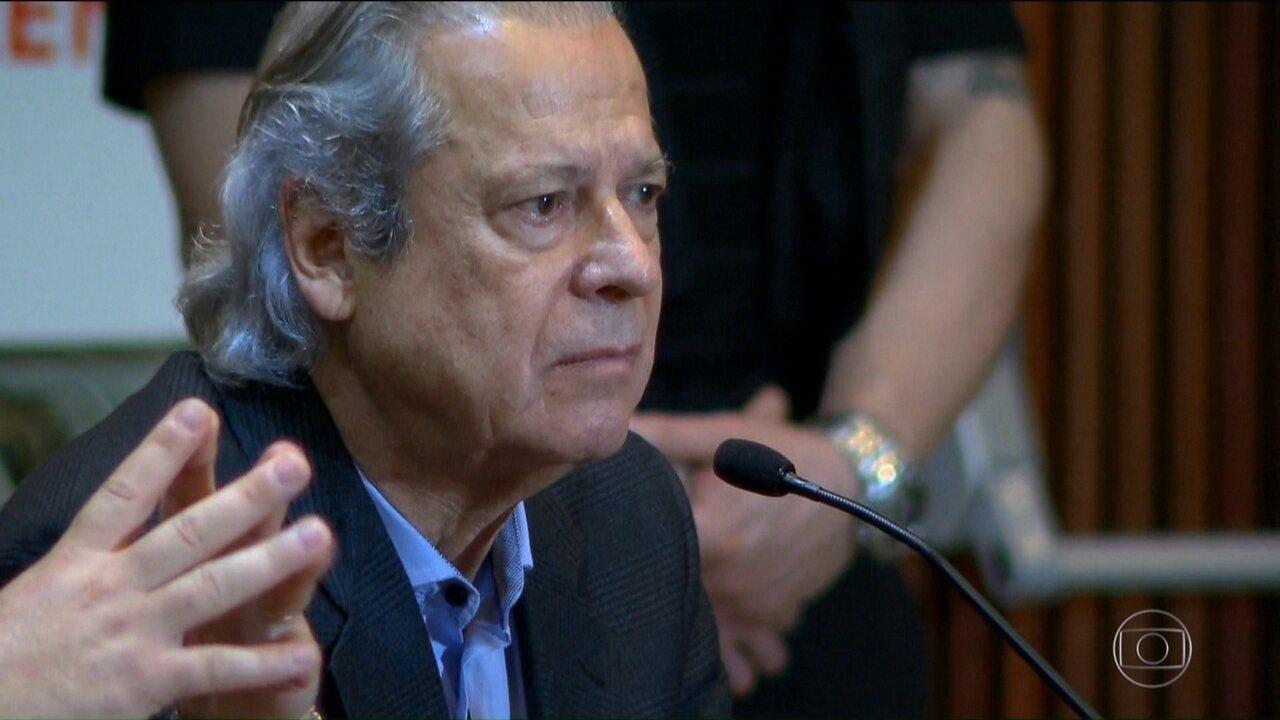TRF-4 mantém condenação de Dirceu em 30 anos e 9 meses de prisão