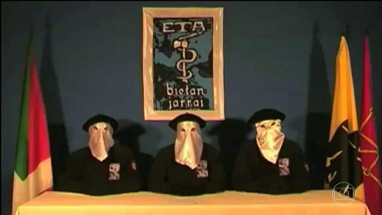Grupo terrorista ETA pede desculpas por matar inocentes durante 40 anos de luta armada