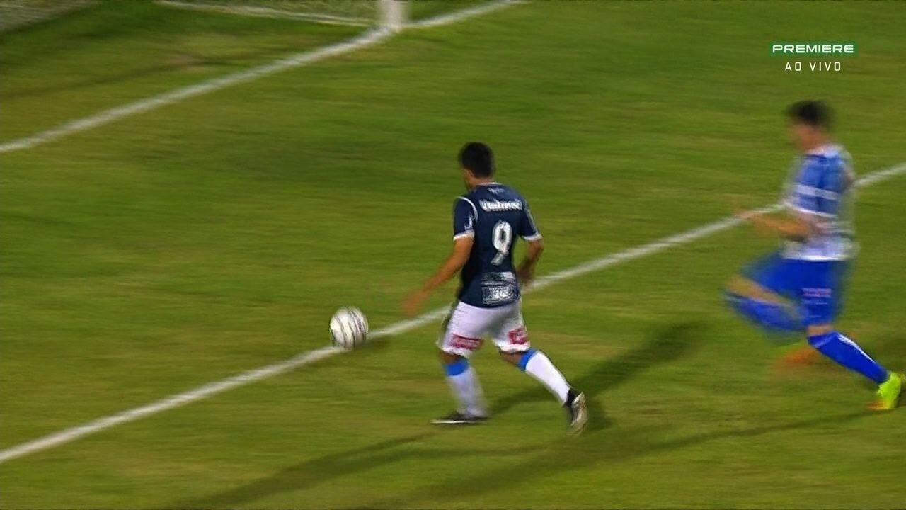 Confira os gols de São Bento 2 X 1 CSA