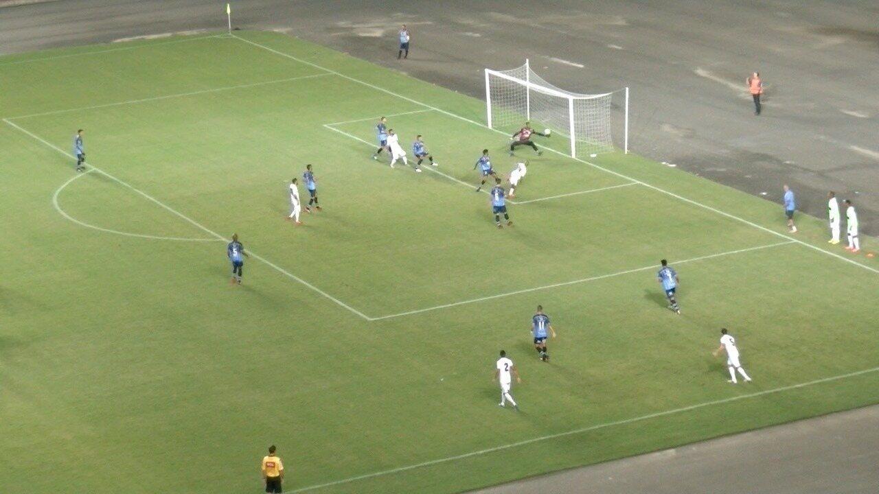Os gols de Espírito Santo 1 x 1 URT, pela Série D do Campeonato Brasileiro 2018