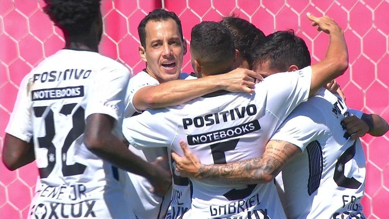 Confira a jogada inteira do terceiro gol do Corinthians contra o Paraná