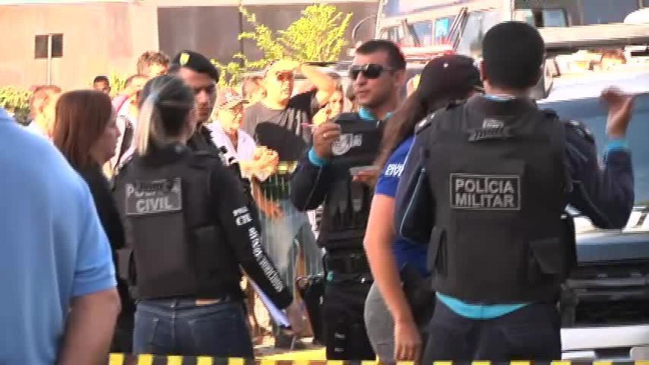 Homem morre baleado na saída de banco em Fortaleza