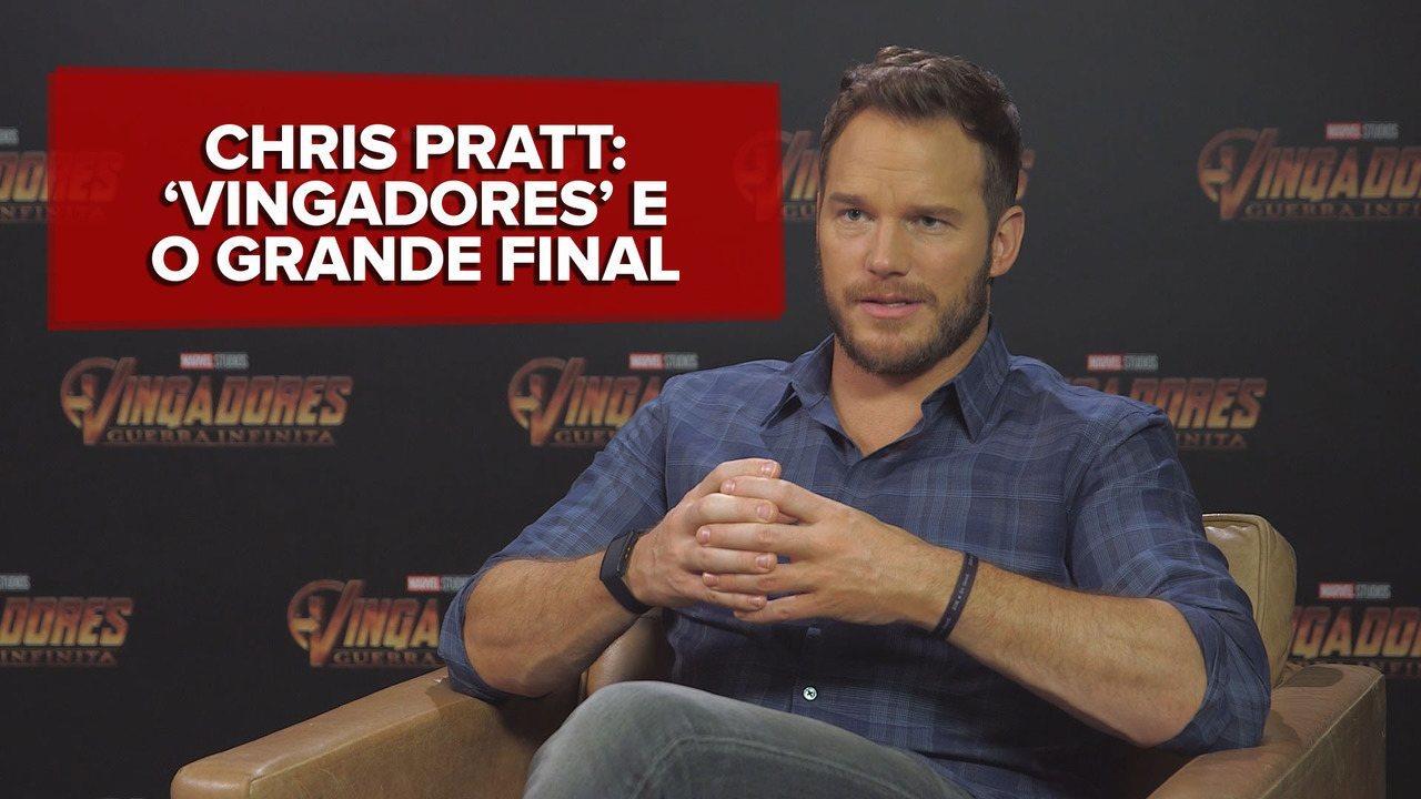 'Vingadores: Guerra Infinita' é o grande final de 10 anos da Marvel, diz Chris Pratt