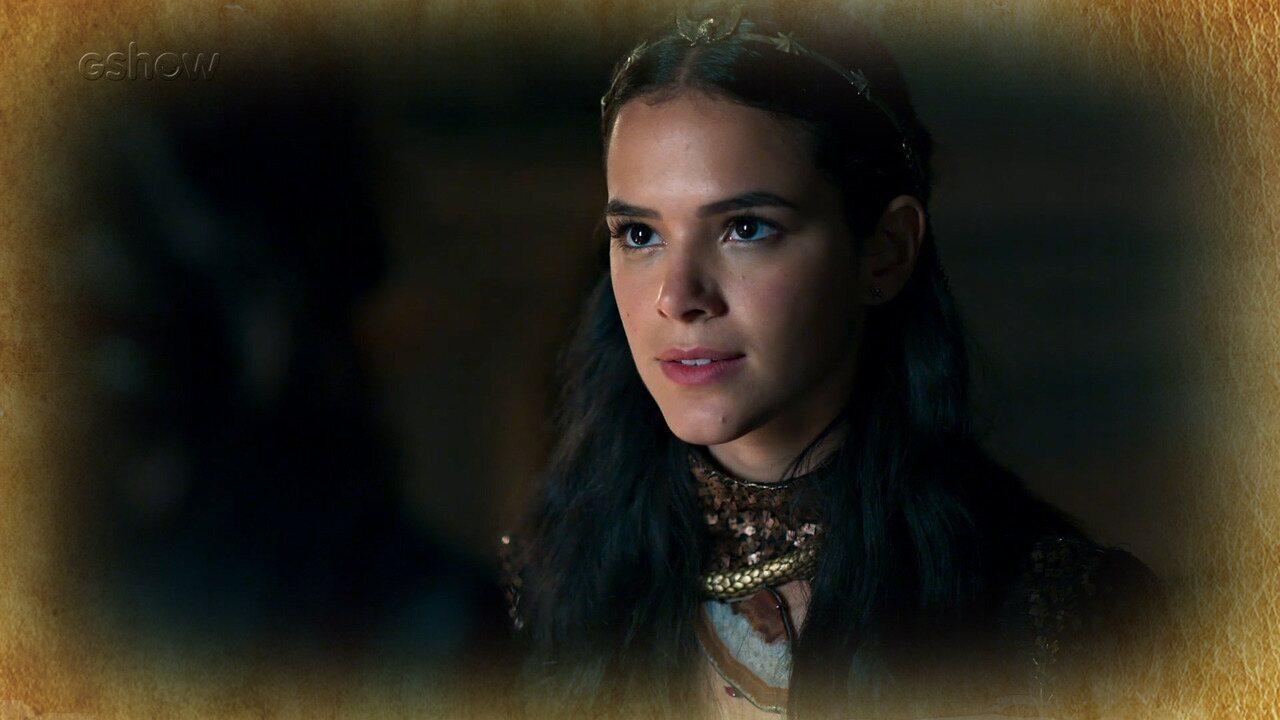 Resumo de 26/04: Catarina discute com Rodolfo e não abre mão da terra de Artena