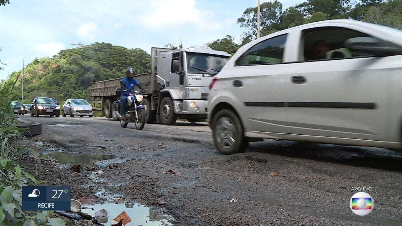 Obras de reforma da BR-101 são investigadas pelo Tribunal de Contas de Pernambuco