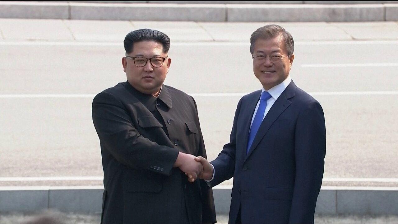 Líderes das Coreias realizam encontro histórico