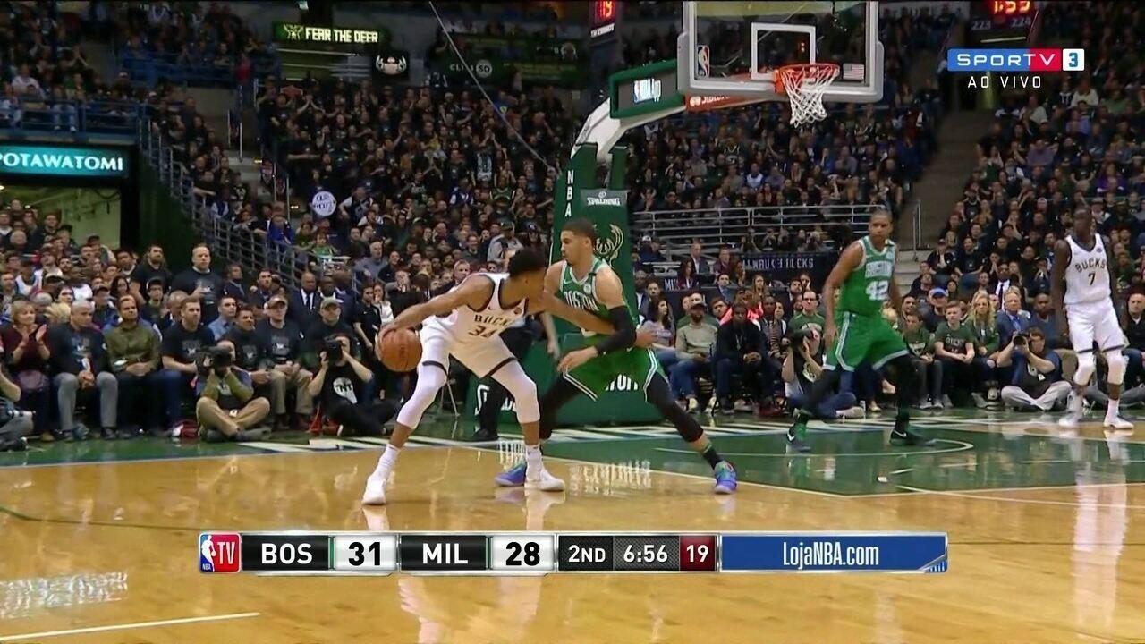 Melhores momentos de Boston Celtics 86 x 97 Milwaukee Bucks pela NBA