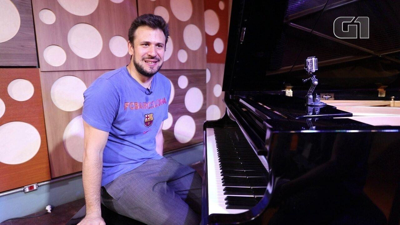 Pianista Cristian Budu quebra chavões da música clássica