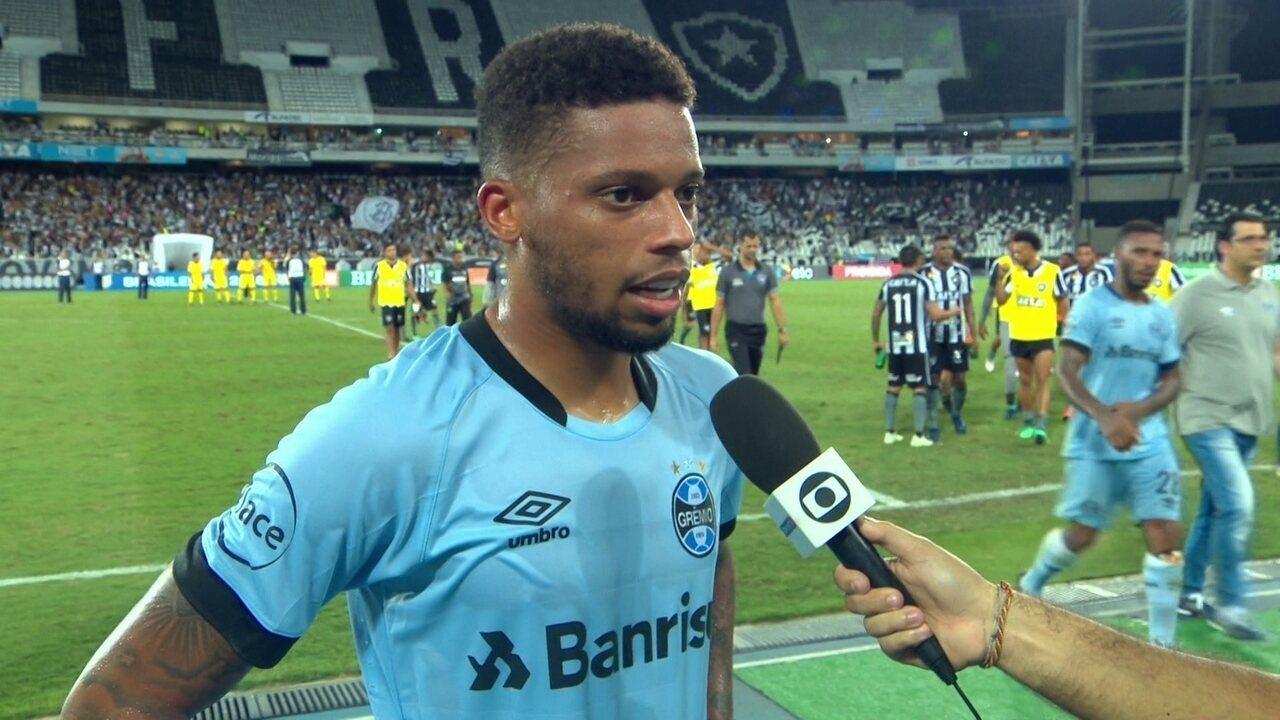 André reconhece que falta de entrosamento prejudicou o grêmio contra o Botafogo