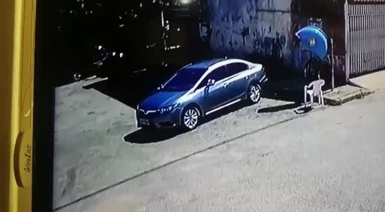 Motorista embriagado atropela PM no Gama — Vídeo