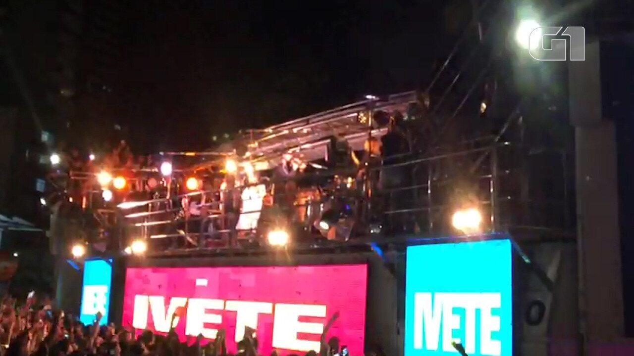 Veja melhores momentos do show de Ivete em Salvador
