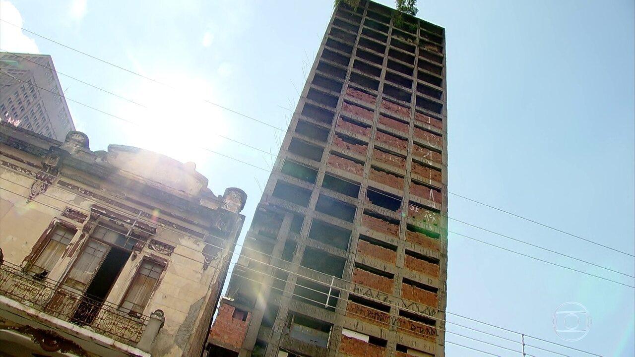 Dezenas de prédios estão ocupados irregularmente na cidade de São Paulo