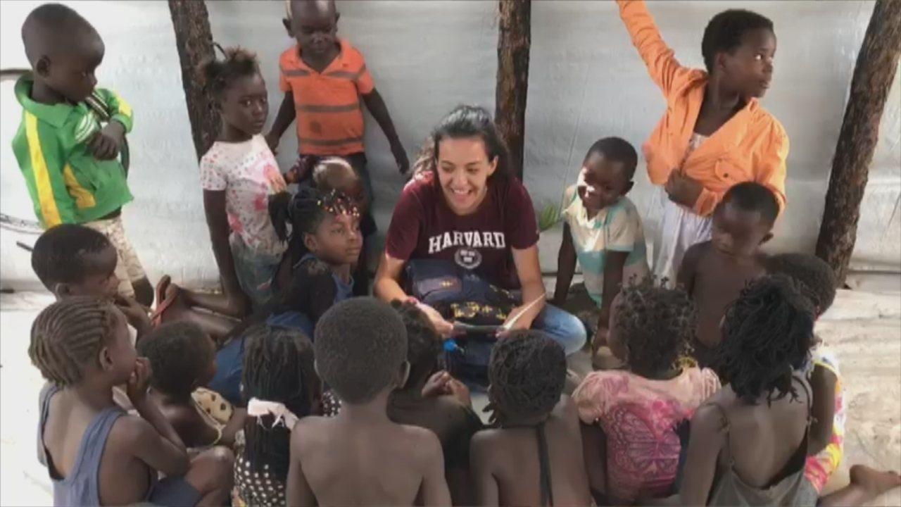 Jovem do interior de SP troca festa de 15 anos por viagem humanitária à Angola