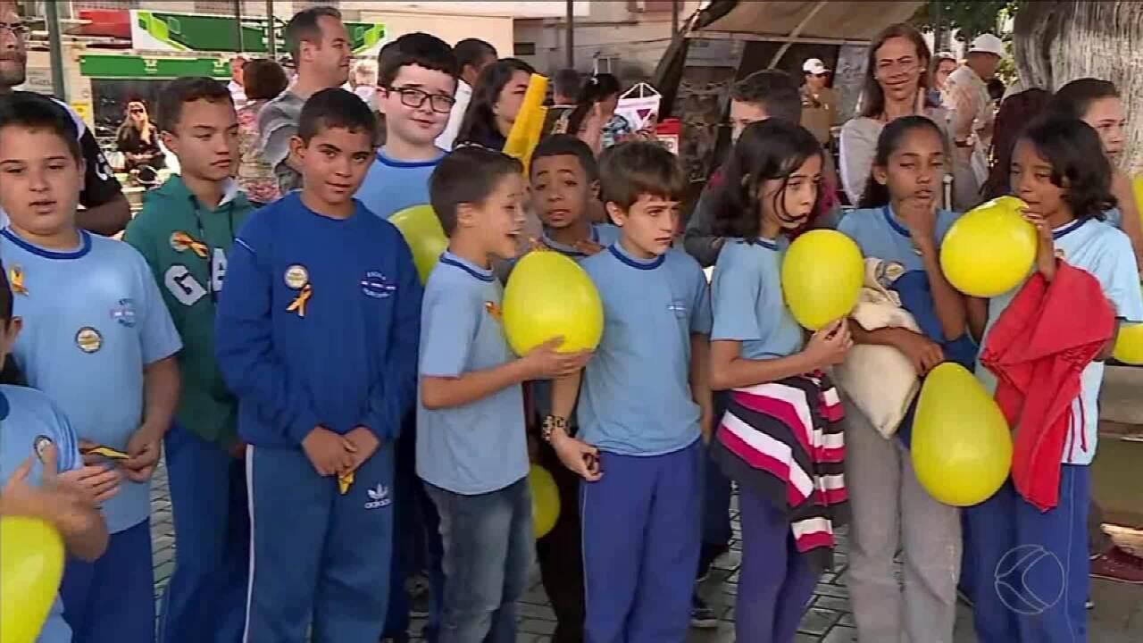 'Maio Amarelo' começa nesta quarta-feira em Barbacena