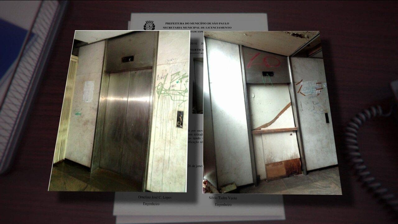 Situação precária de prédio em SP era conhecida das autoridades, revela documento