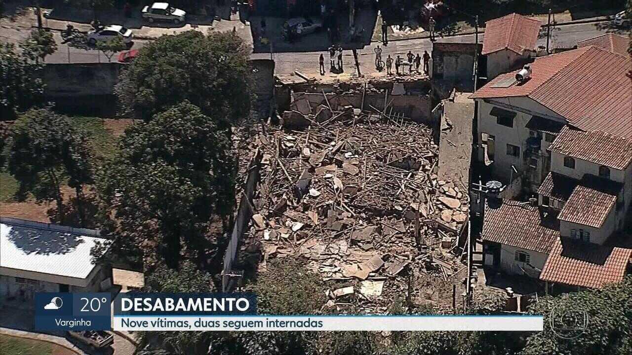 Casa que desabou em Belo Horizonte era irregular, diz prefeitura