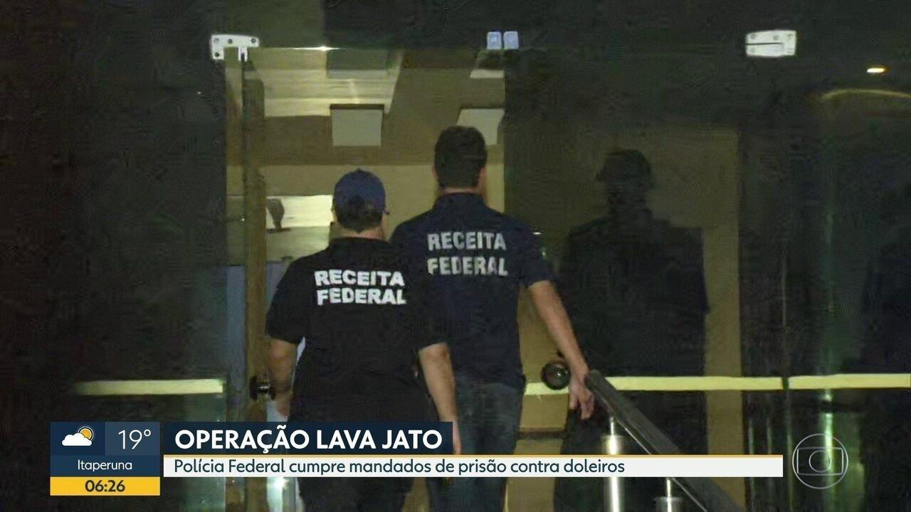 Polícia Federal cumpre mandados de prisão contra doleiros