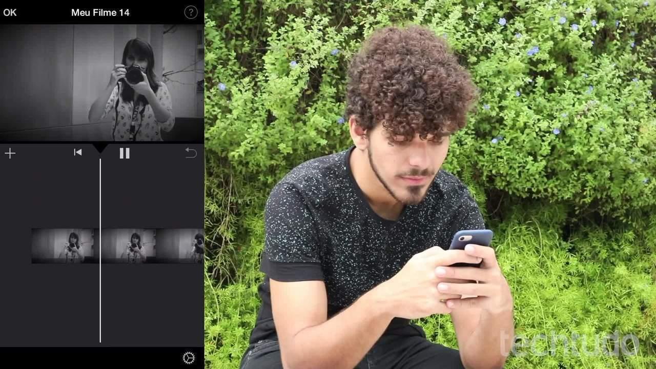 Como deixar um vídeo em câmera lenta no iMovie do iPhone
