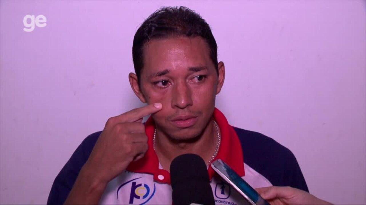 Chapinha comenta lance incrível perdido em derrota do 4 de Julho: