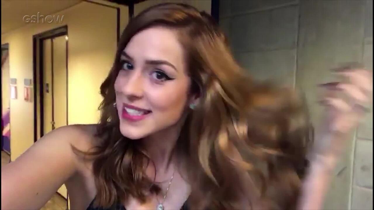 Sophia Abrahão mostra seu novo look