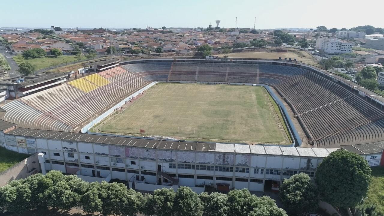 GE fez visita aerea pelo estádio Benedito Teixeira em São José do Rio Preto