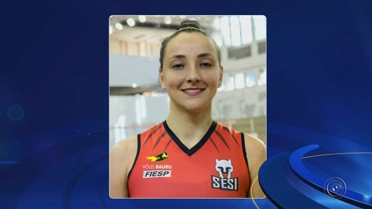 Vanessa Janke, ex-Pinheiros, é o novo reforço do Sesi-Bauru.