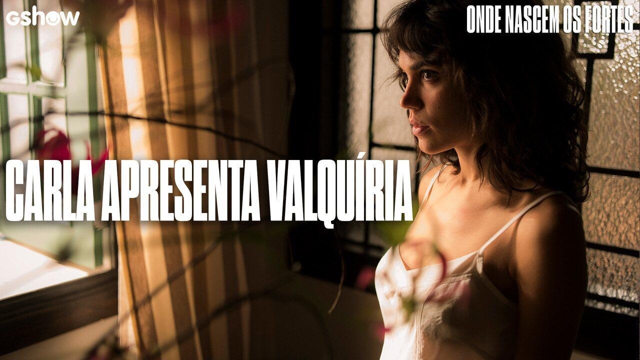 Carla Salle apresenta Valquíria, sua personagem em 'Onde Nascem os Fortes'