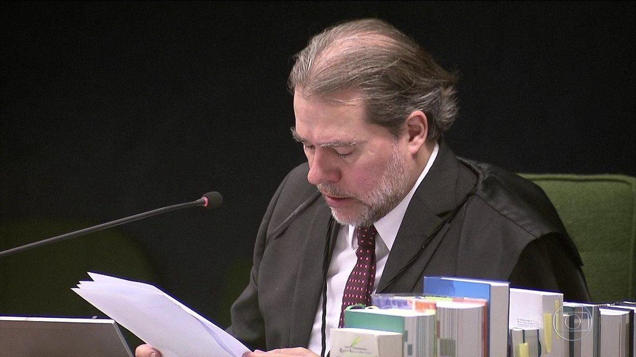 No Supremo, Toffoli quer discutir ampliação das novas regras do foro