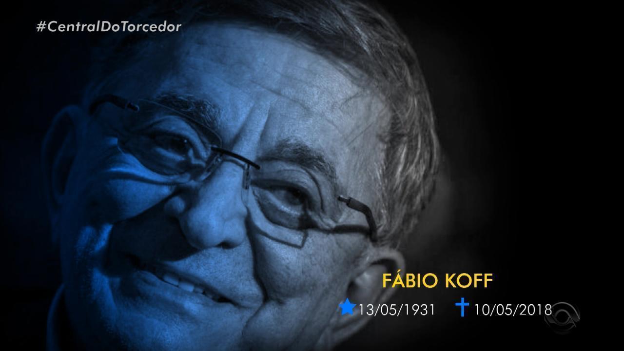Fábio Koff, ex-presidente do Grêmio, morre aos 86 anos e é imortalizado pelos gremistas