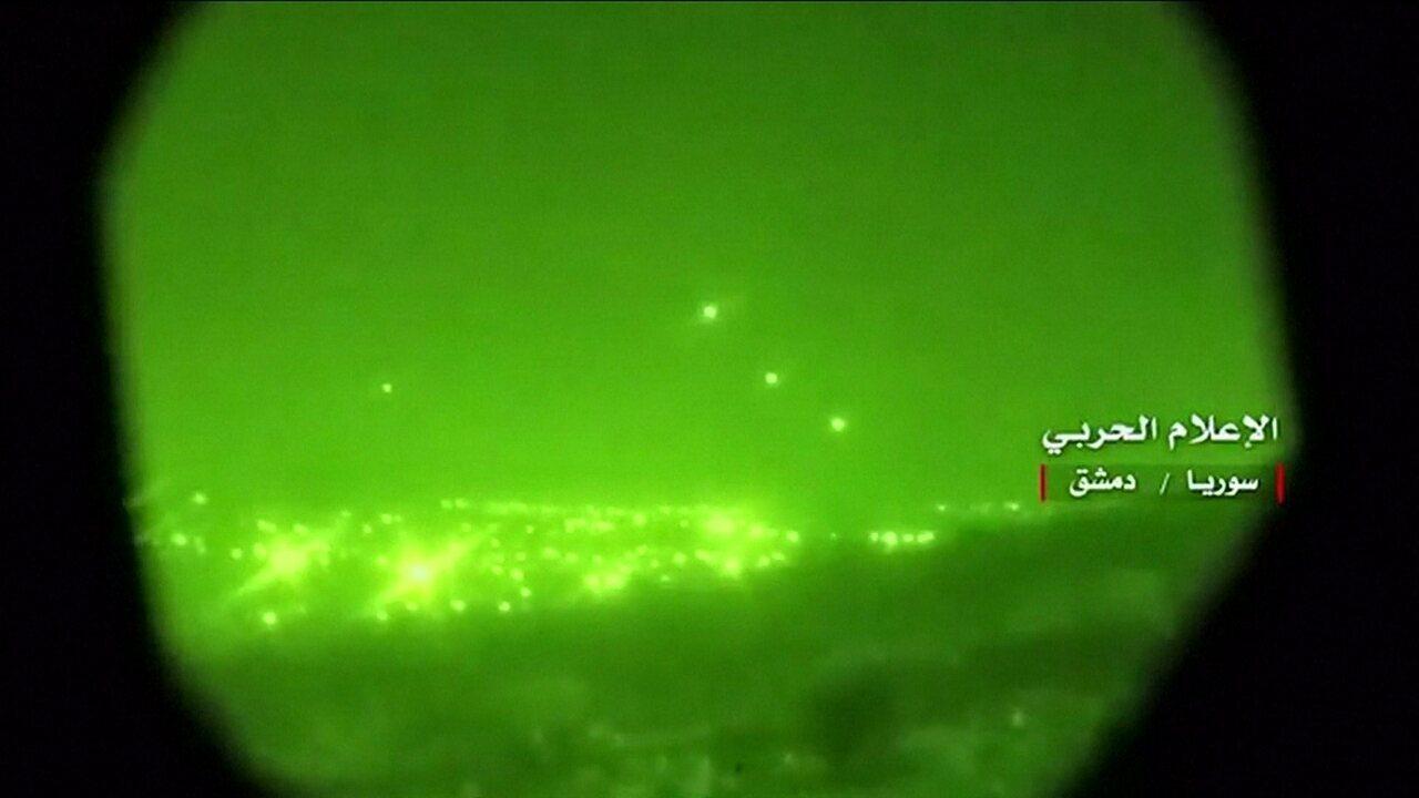 Israel contra-ataca alvos militares iranianos na Síria