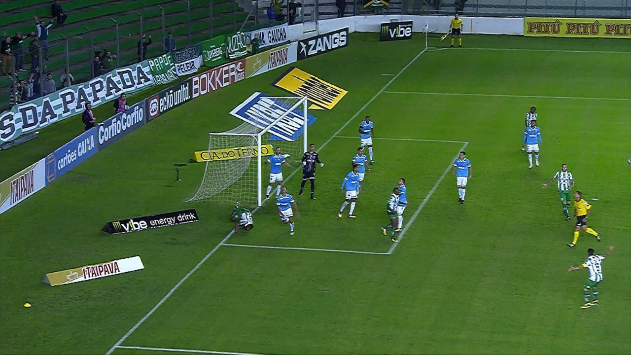 Confira os melhores momentos de Juventude 1 a 1 Paysandu, pela 5ª rodada da Série B