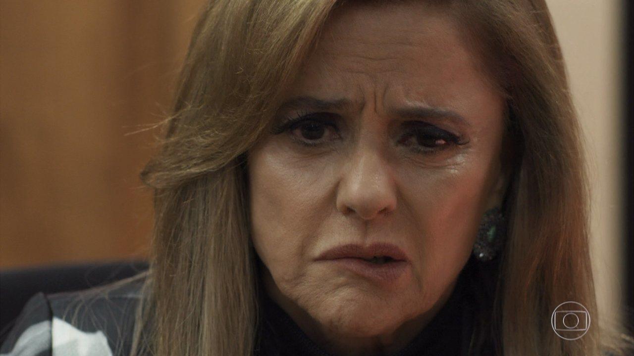 Sophia confessa todos os seus crimes em julgamento