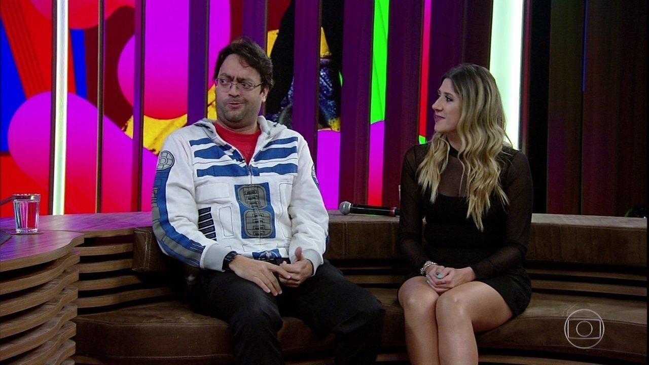 Fernando Caruso e Dani Calabresa falam sobre as imitações de Michel e Marcela Temer