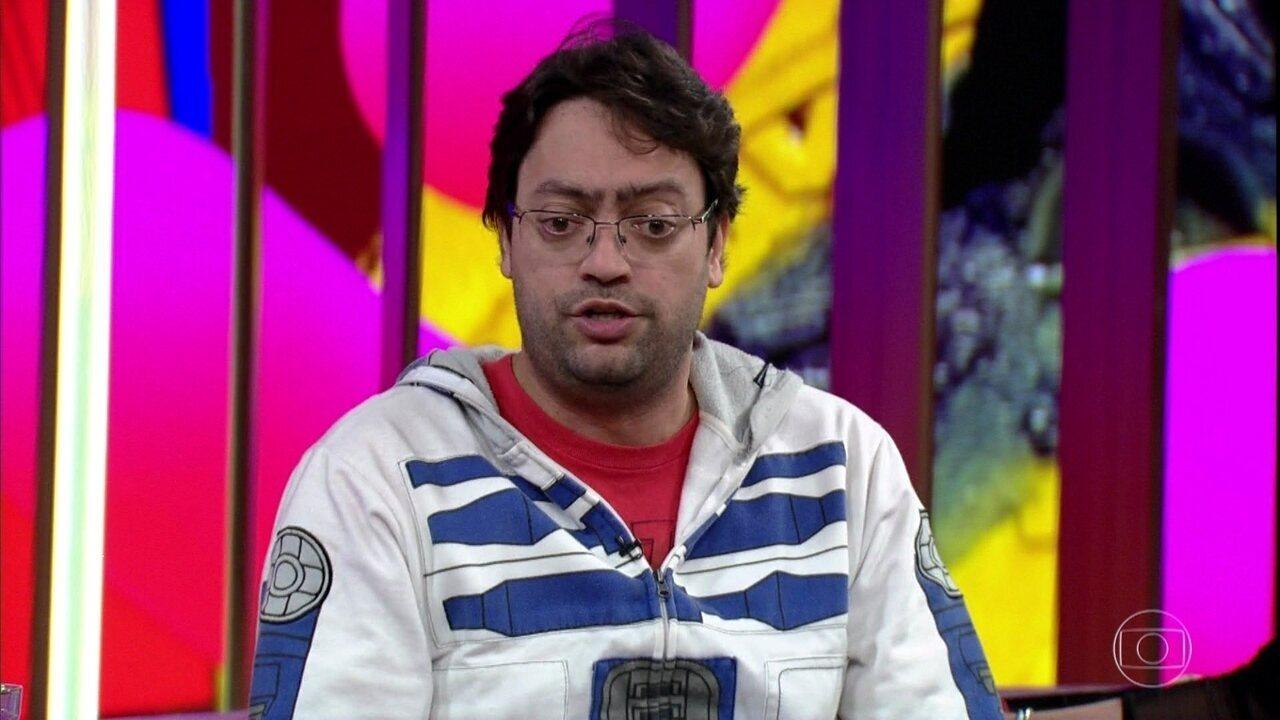 Fernando Caruso mostra seu lado nerd
