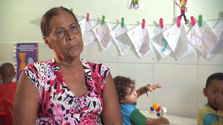 Nildete Sampaio, fundadora da Creche-escola Mãe Nildete, diz o que é ser mãe para ela
