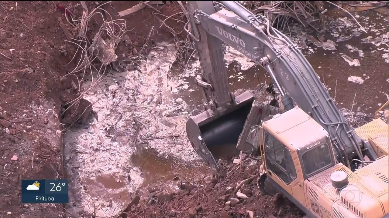 Bombeiros devem encerrar buscas por desaparecidos na segunda (14) no Paissandu