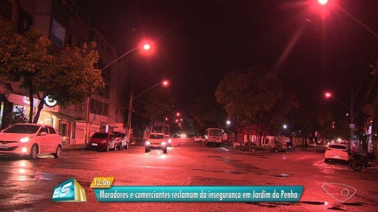 Moradores e comerciantes reclamam de violência em Jardim da Penha, Vitória