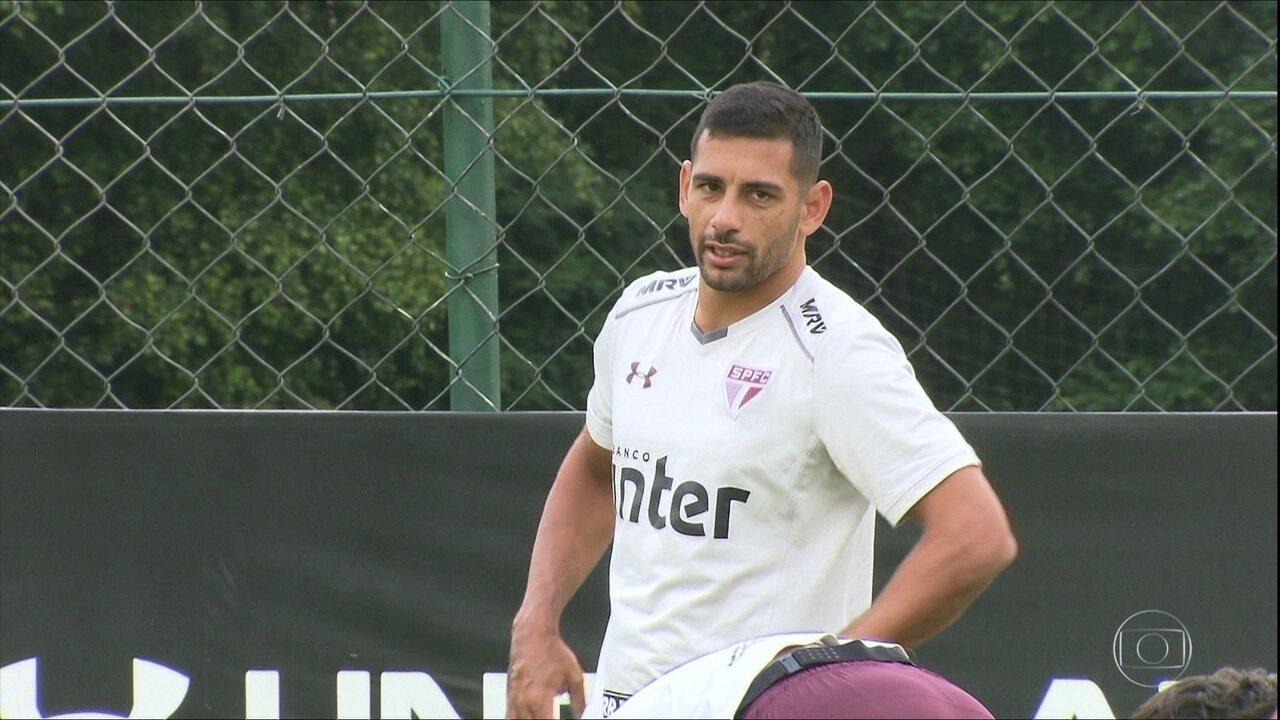 Depois do gol na Copa Sulamericana, Diego Souza espera manter boa fase no São Paulo