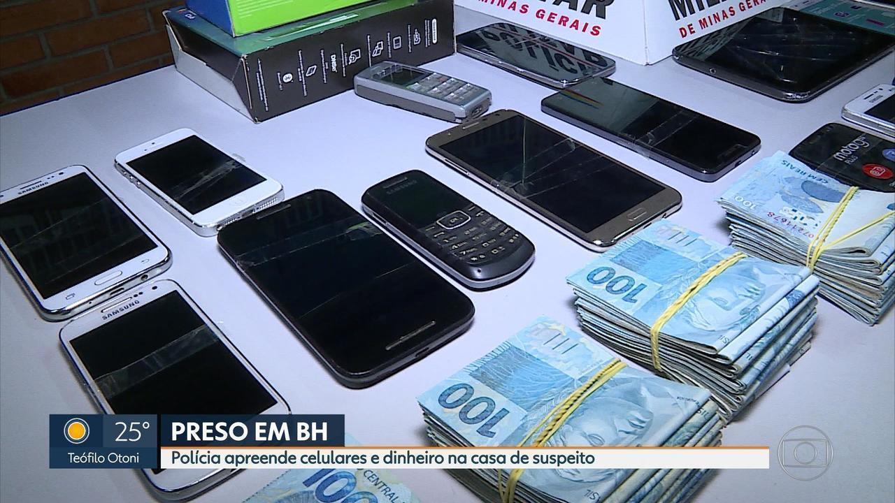 PM apreende mais de R$ 100 mil em casa na zona Leste de Belo Horizonte