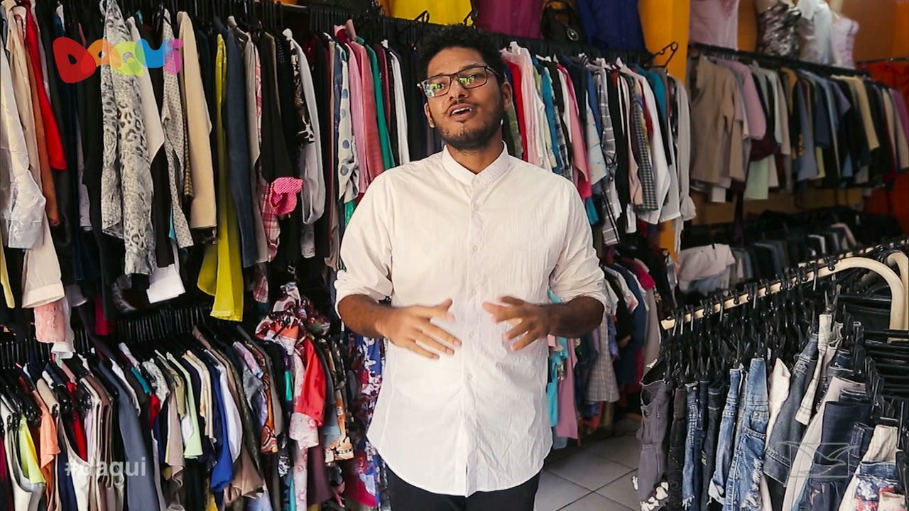 Brechó em ruas de São Luís é destaque no Daqui