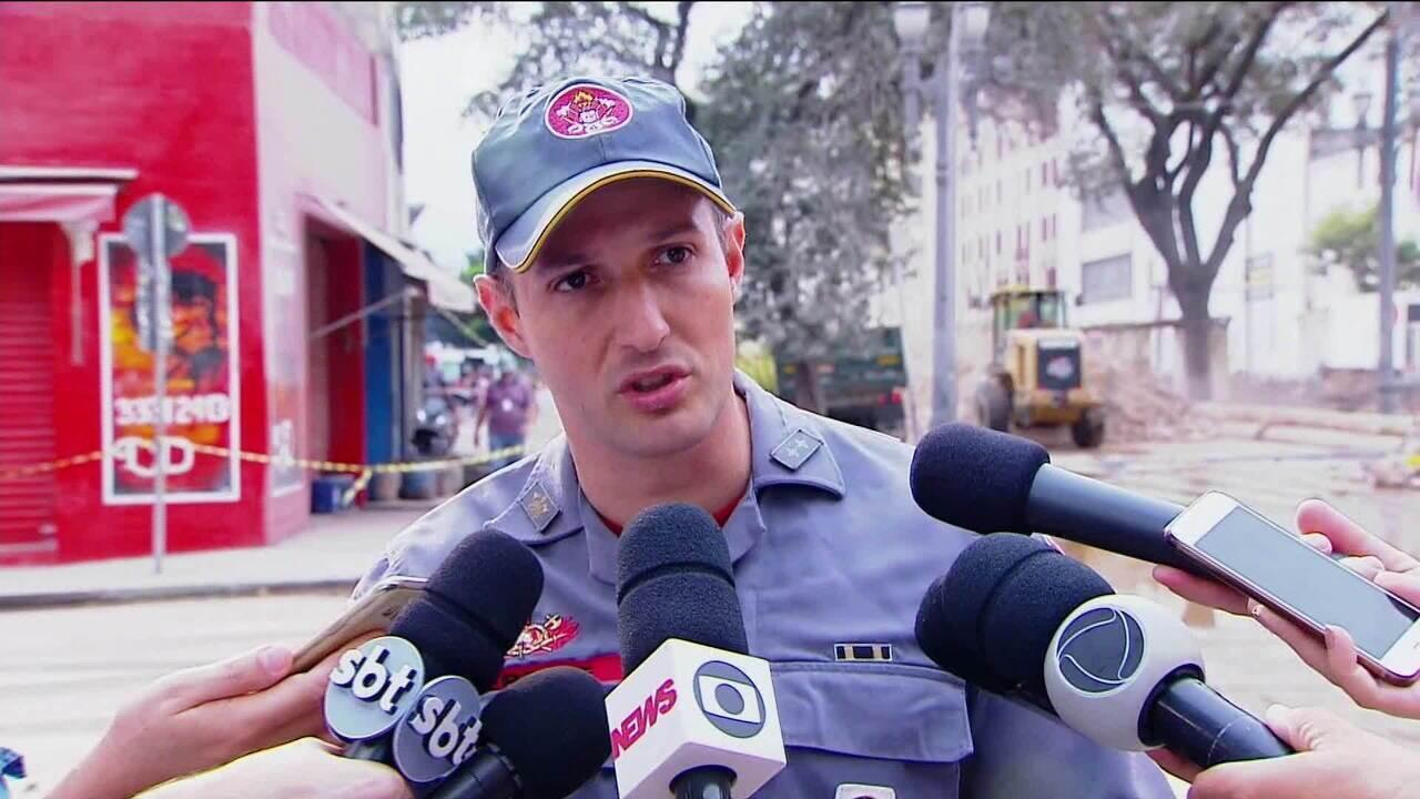 Polícia identifica restos mortais de irmãos gêmeos que estavam em prédio que caiu em SP