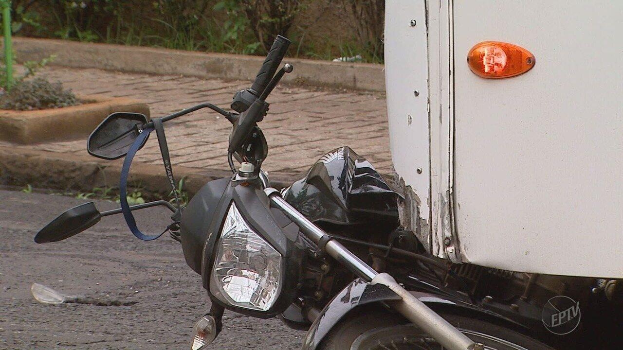 Morre motociclista atropelada por ônibus no Centro de Ribeirão Preto