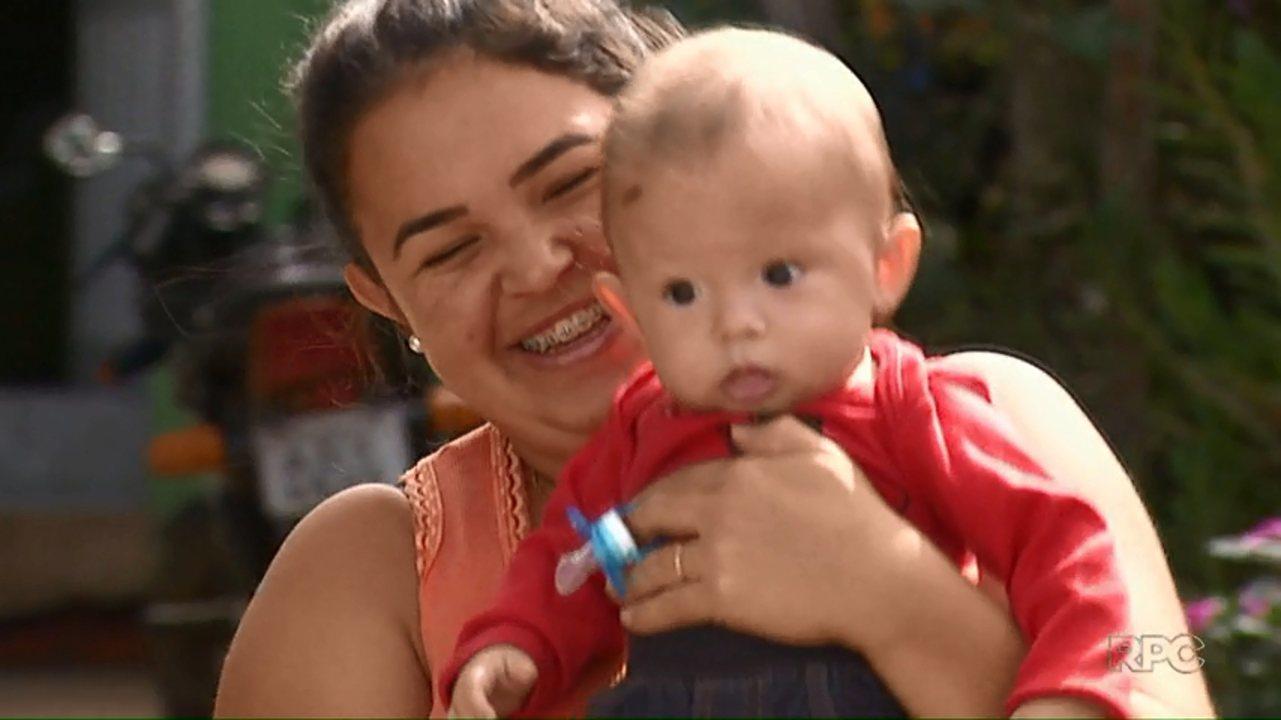 VÍDEO: Paranaense que deu à luz em coma após acidente comemora 1º Dia das Mães com filho: 'Sobrevivi por ele'