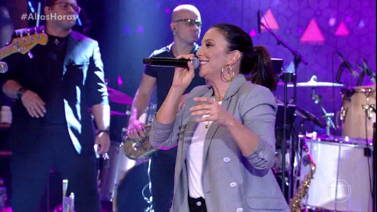 Ivete Sangalo canta: 'À Vontade'