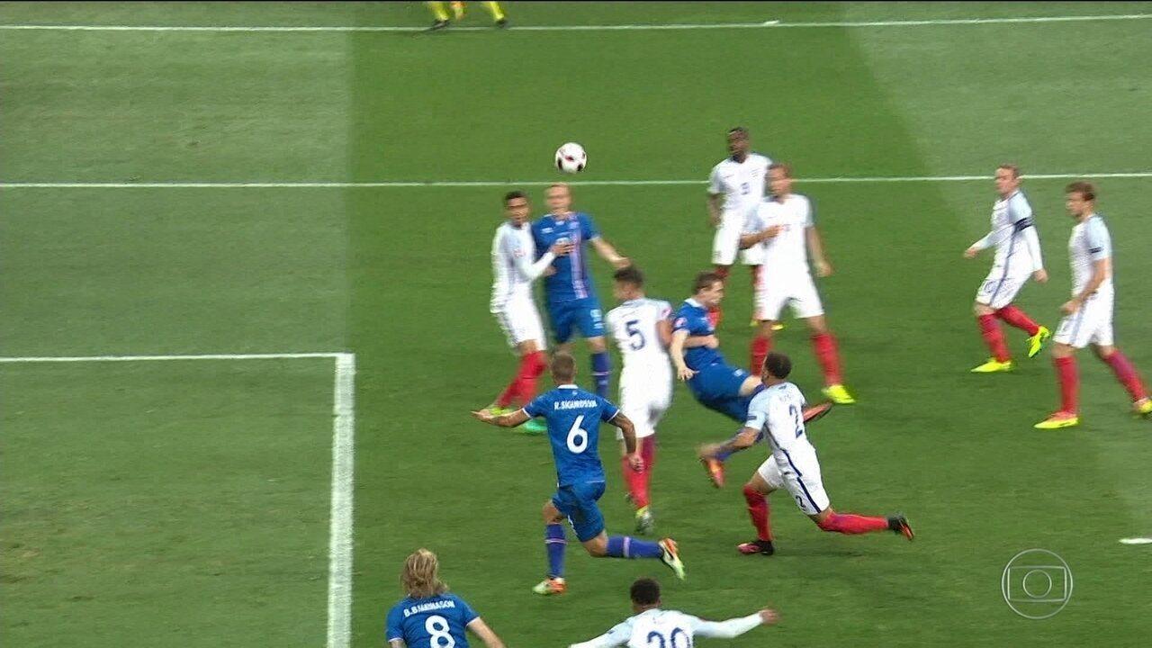 Pela primeira vez na Copa do Mundo, Islândia é o menor país na competição