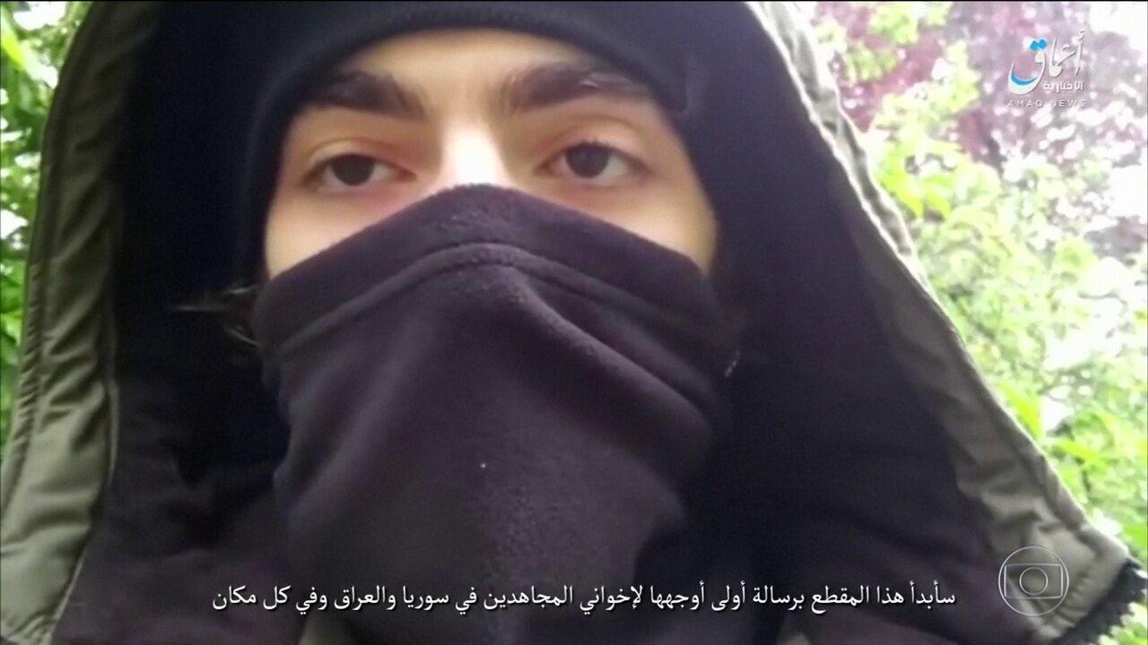 Suposto vídeo do terrorista que cometeu o ataque em Paris é divulgado pelo Estado Islâmico
