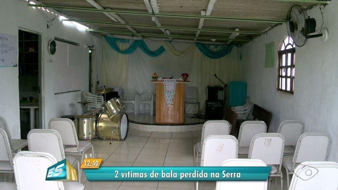 Menina de 11 anos é vítima de bala perdida dentro de igreja na Serra, ES