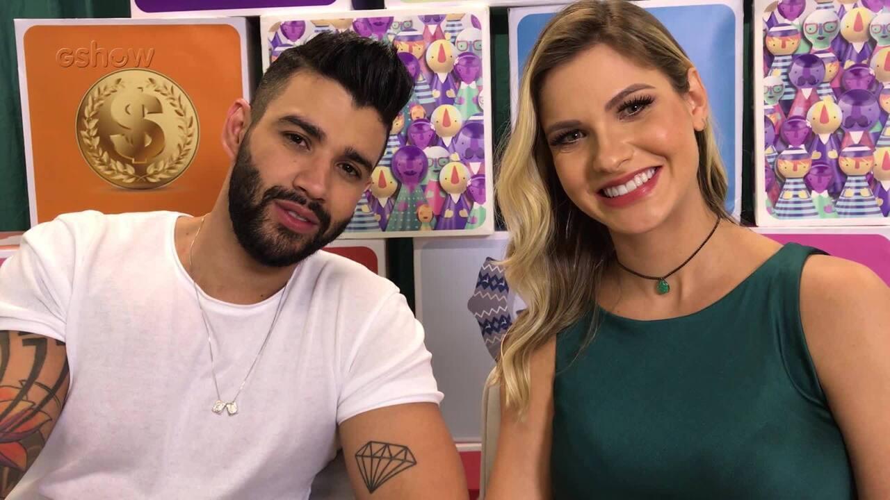 Gusttavo Lima e Andressa Suita falam sobre a escolha do nome do filho